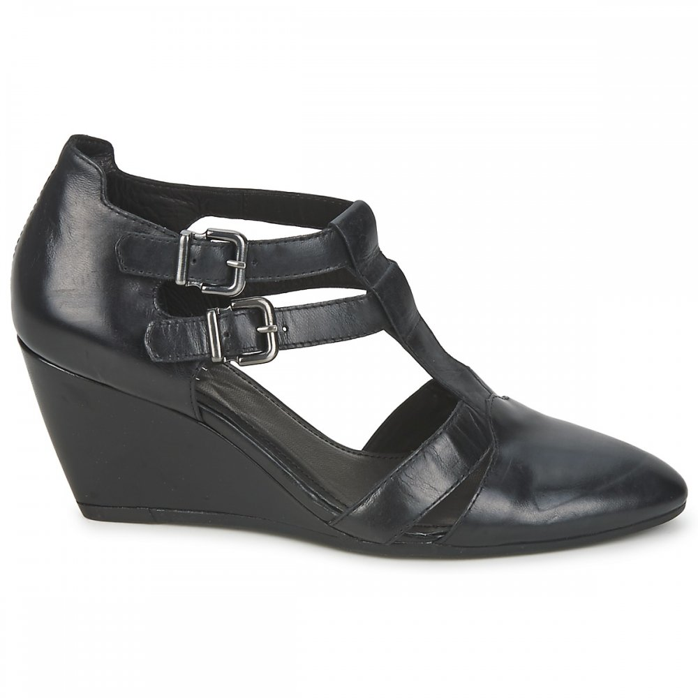 Vagabond Vagabond Shoe: VAGABOND Maritsa Wedge Shoe Black