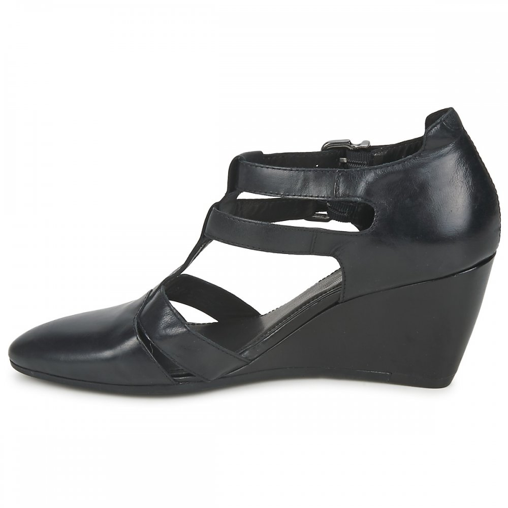 VAGABOND Maritsa Wedge Shoe Black - VAGABOND from twistedfabric UK