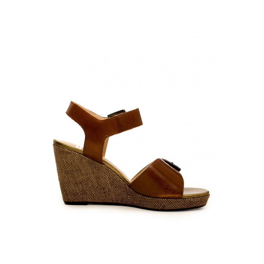from Wedge VAGABOND VAGABOND twistedfabric UK Sandal Tan Gwai IXnwx88C5q