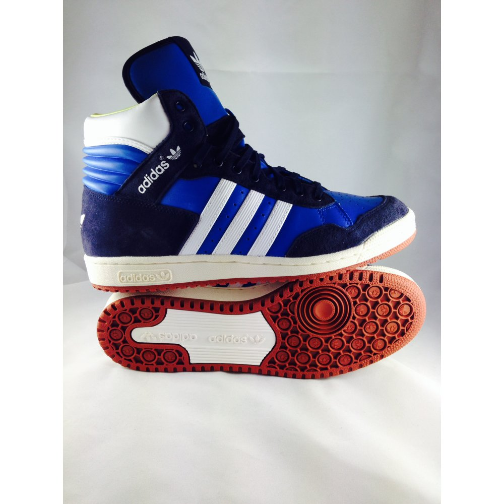 ... ADIDAS D65937 Pro Conference Trainer Hi Blue ...