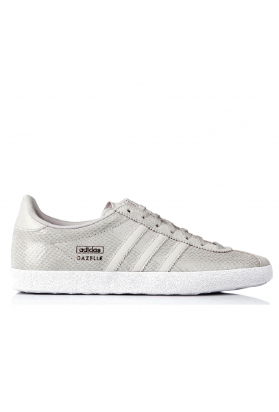 Womens Adidas Grey Gazelle Og Suede Trainers