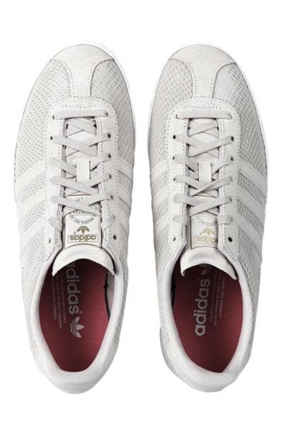 adidas snake gazelle trainers