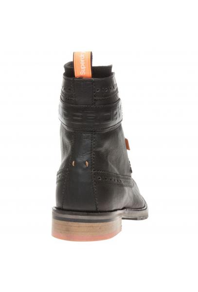 1bb8f8df999 SUPERDRY Brad Brogue Boot Black