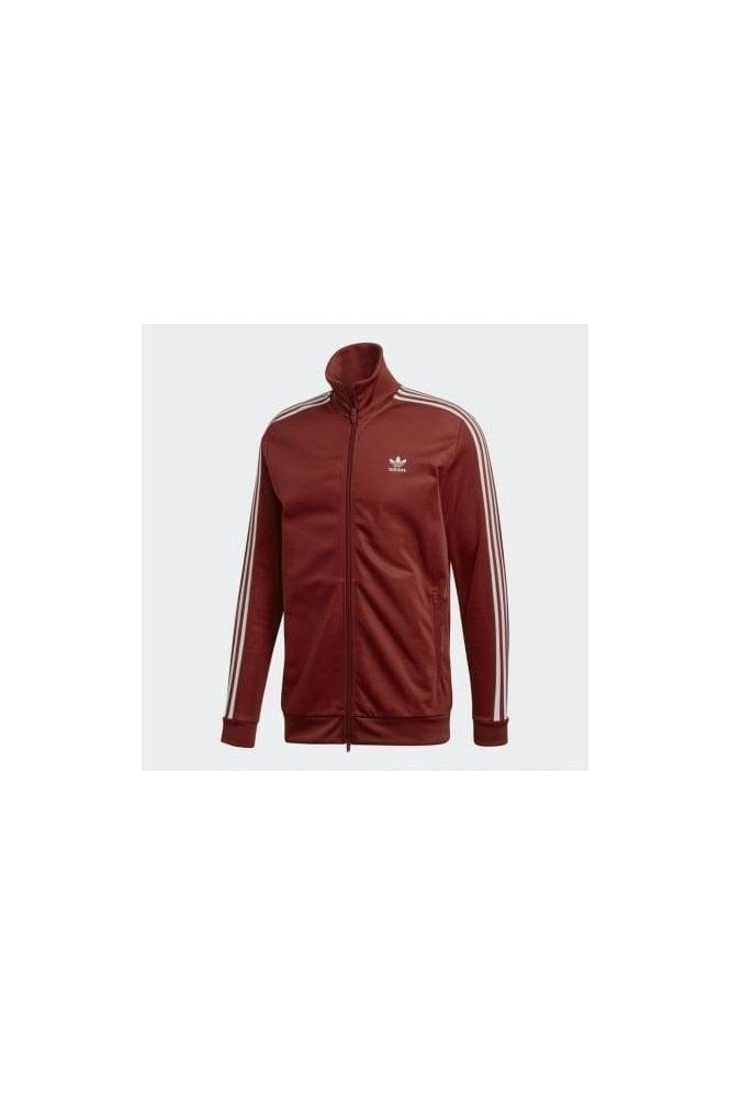 ADIDAS Beckenbauer Tracktop Rust Red