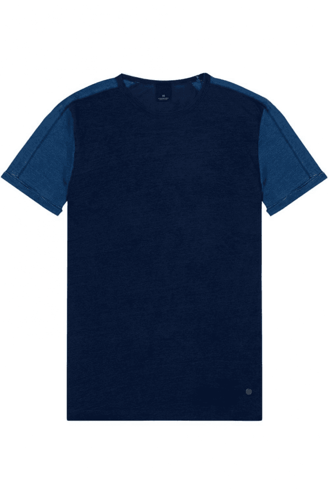 SCOTCH & SODA Washed Crew Neck T-Shirt