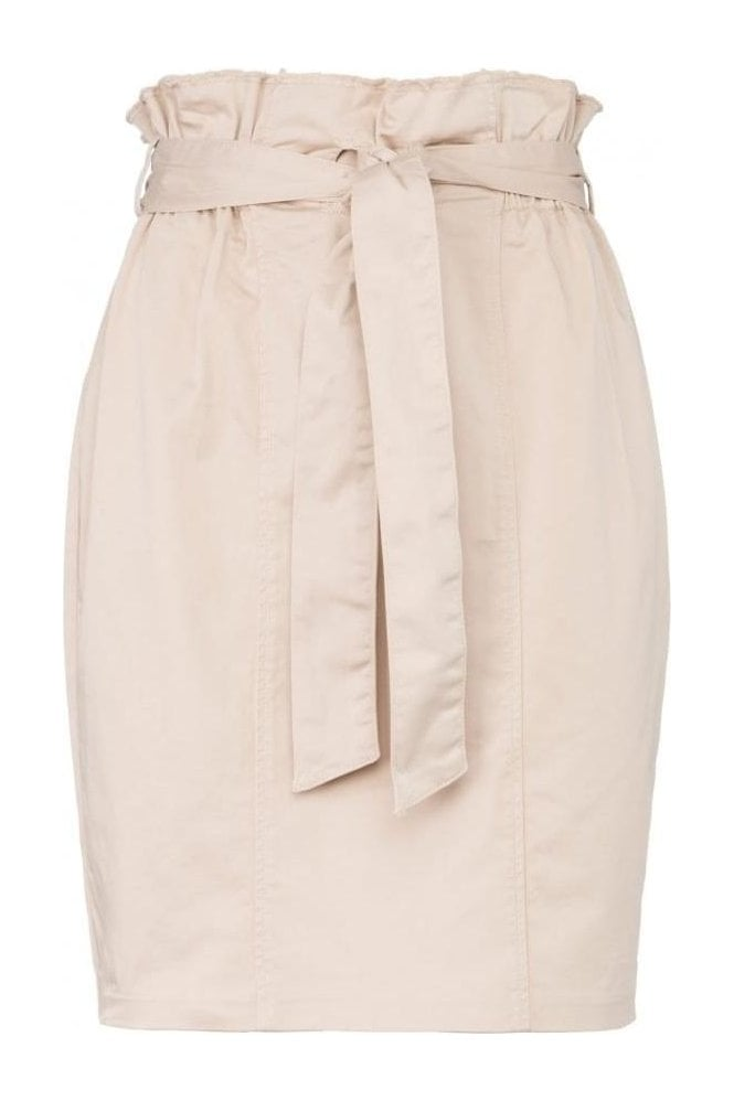 YAYA PENCIL SKIRT WITH PAPERBAG WAIST