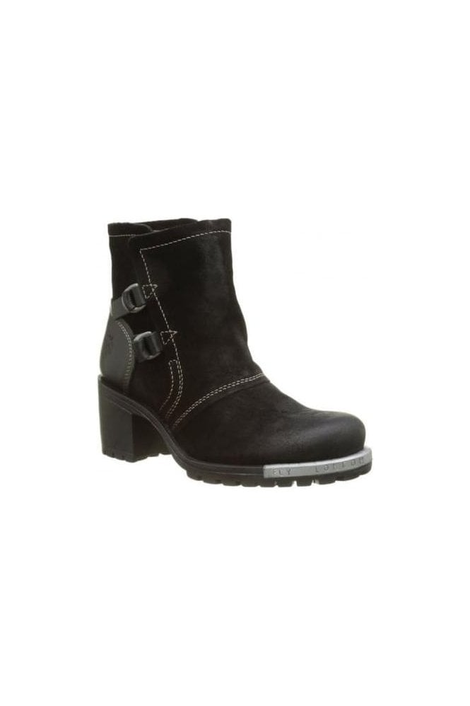 FLY LONDON Oil Suede/rug Heel Lory Boot