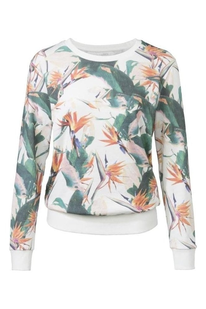 YAYA Jungle Flower Sweat