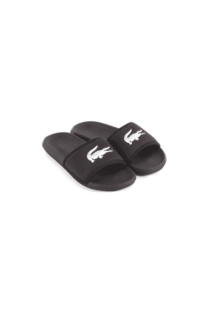 LACOSTE Croco Slide 119 3 CMA Black/White