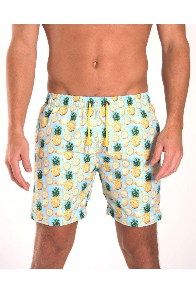 FRANKS Pineapple Swim Short Sky