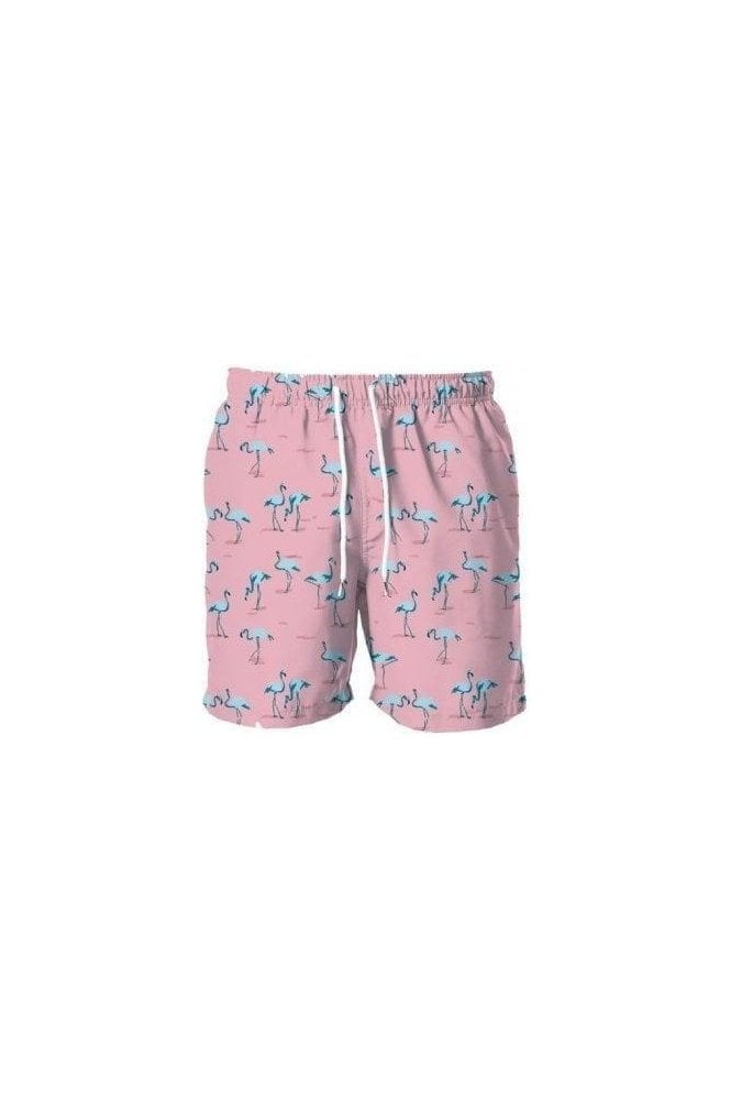 FRANKS Flamingo Swim Short Pink