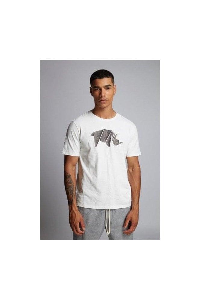 HYMN Rhino Tee Off White