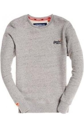 Superdry Ol Crew Anchor Grey Grit