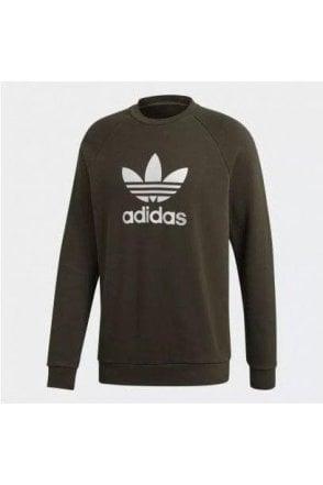 Adidas Trefoil Crew Green
