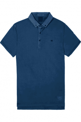 Garment Dyed Jersey Polo