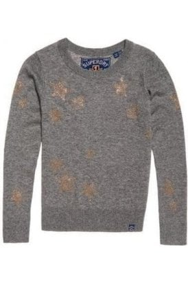 Superdry Gemstone Jumper Grey Marl