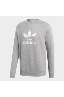 Trefoil Crew Sweat Grey