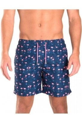 Flamingo Swim Short Midnight