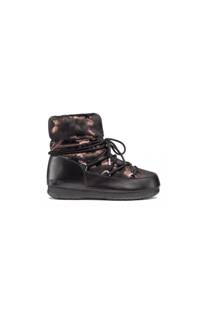 MOON BOOT We Low Camu WP Black/Bronze