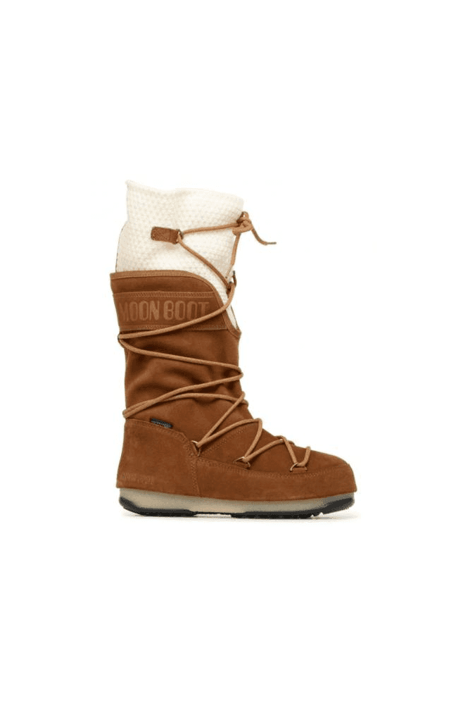 MOON BOOT We Anversa Wool Boot Tan