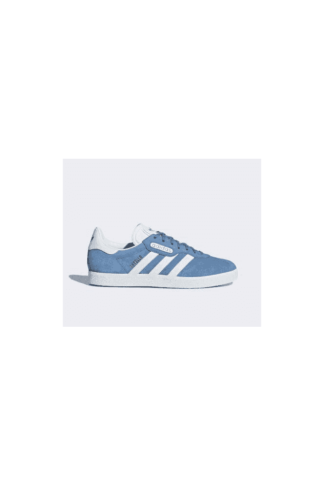 ADIDAS Gazelle Super Essential White/Cyan