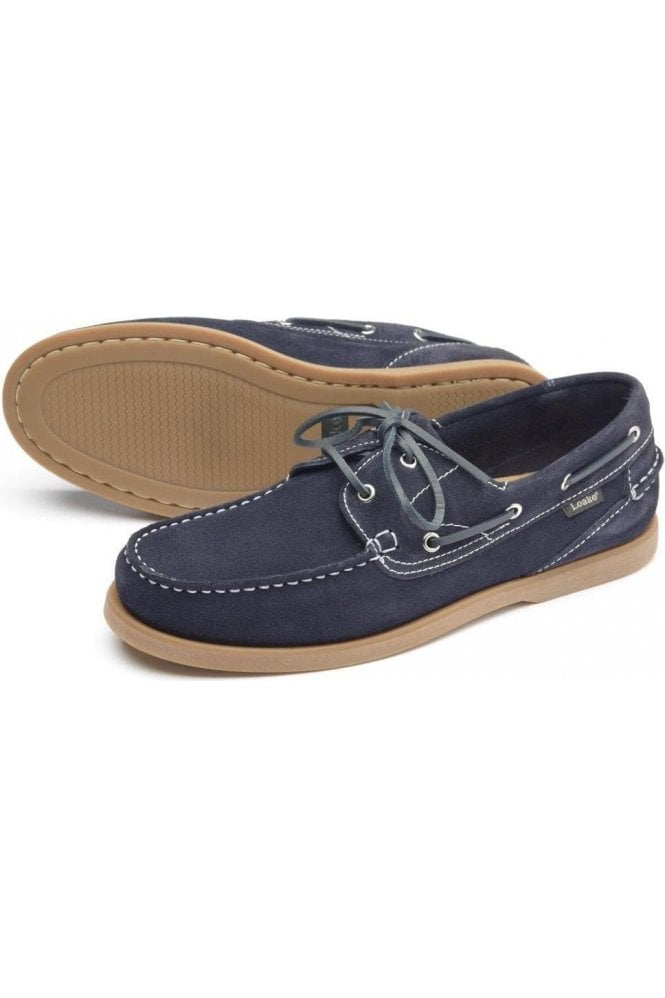 LOAKE Navy Suede Navy