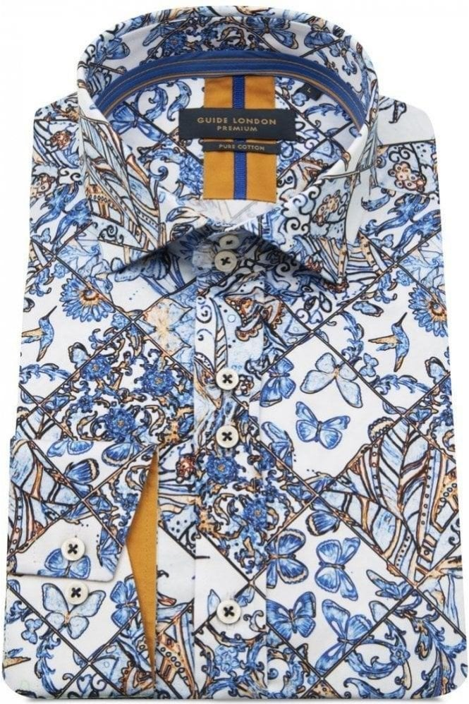 GUIDE LONDON Shirt Blue
