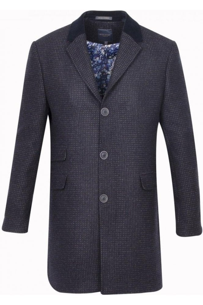 GUIDE LONDON Coat Navy