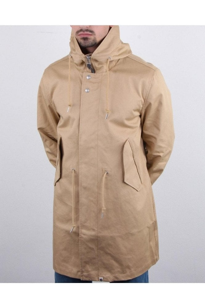 PRETTY GREEN Marshall Parka Stone