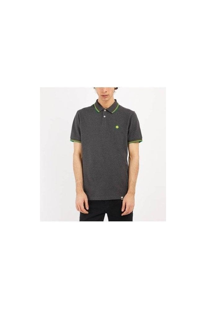 PRETTY GREEN Barton Polo Grey