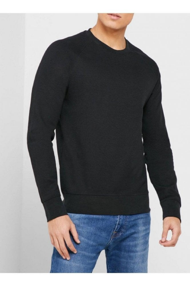 SELECTED HOMME Slhrami Crew Sweat Black