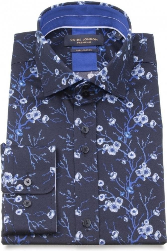 GUIDE LONDON Shirt Navy