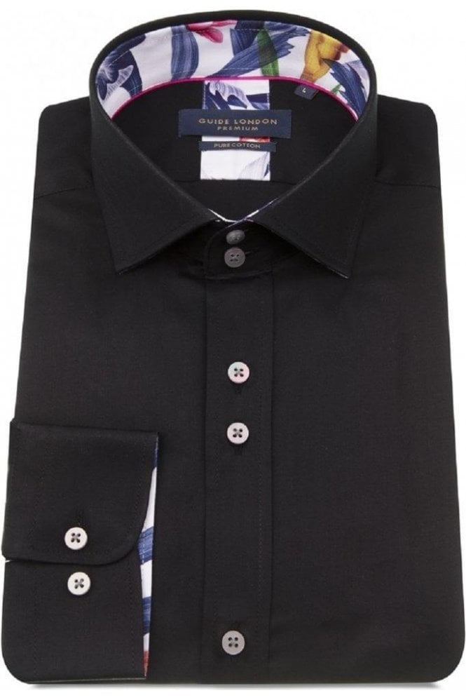 GUIDE LONDON Shirt Black