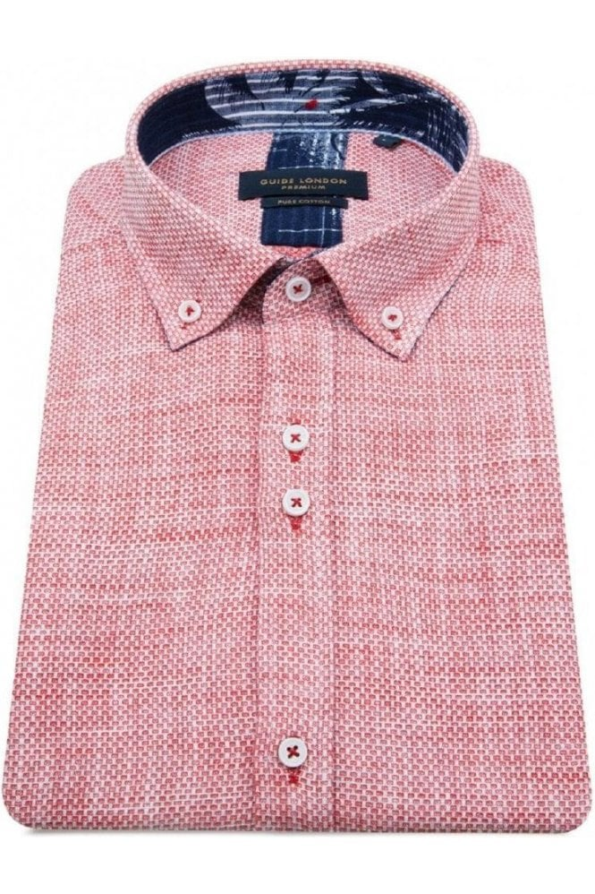 GUIDE LONDON S/s Shirt Red