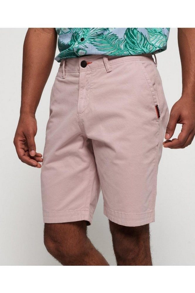 SUPERDRY International Slim Chino Lite Short Haze Pink