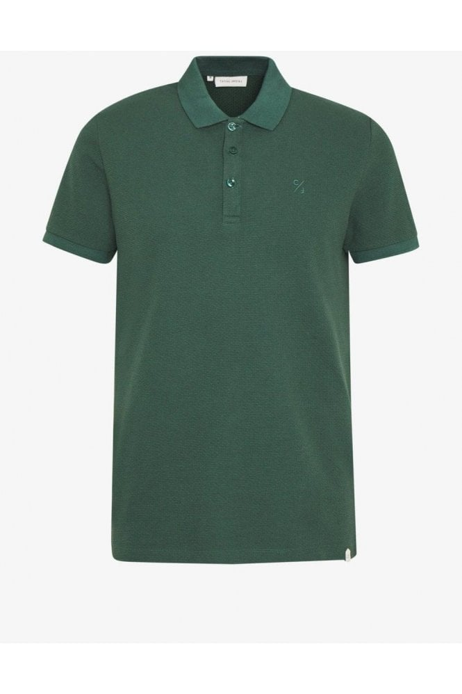 CASUAL FRIDAY Turner Polo Bistro Green