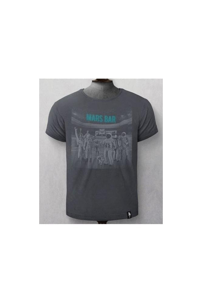 DIRTY VELVET Mars Bar T-shirt Charcoal