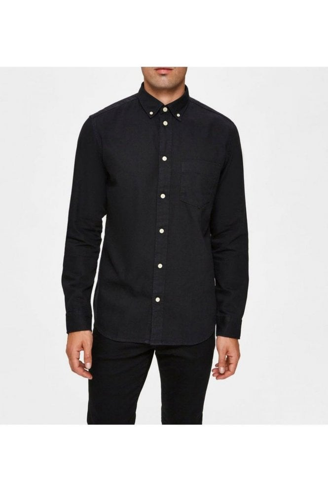 SELECTED HOMME Selected Slhregross Shirt Black