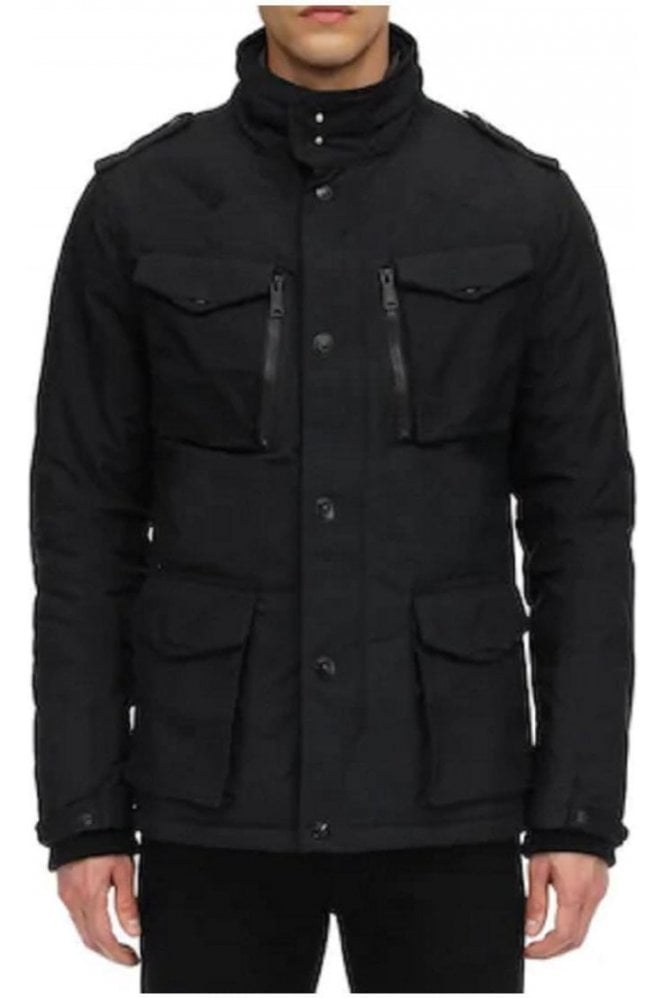 SCHOTT Short Field Jacket Black