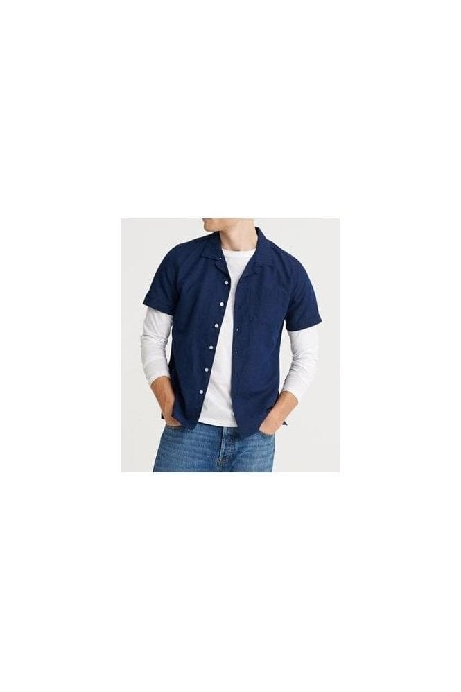 SUPERDRY Edit Cabana S/s Shirt Indigo
