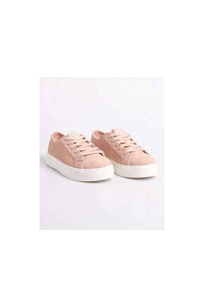SUPERDRY Flatform Sleek Trainer Soft Pink