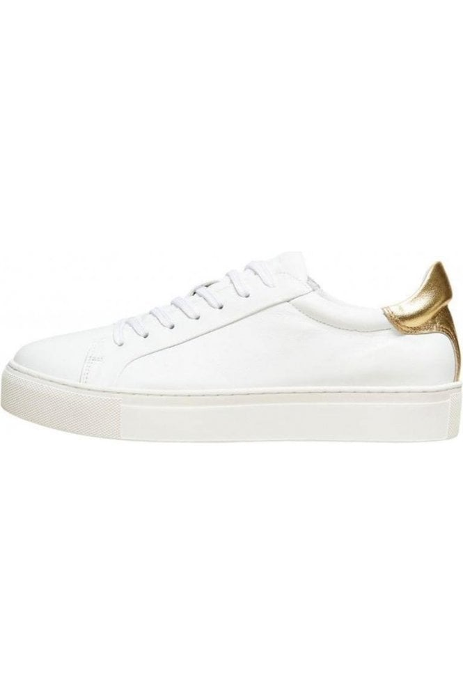 SELECTED FEMME Slf Donna New Contrast Trainer Gold