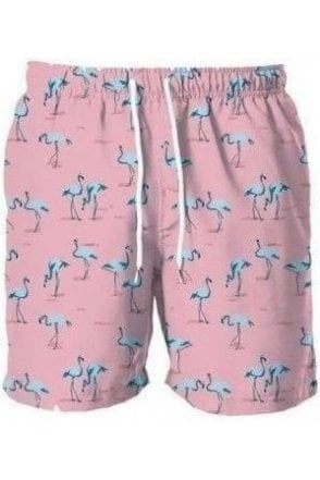 Flamingo Swim Short Pink