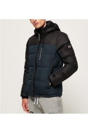 Superdry Cortex Down Jacket Dark Ink