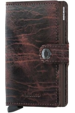Secrid Miniwallet Dutch Martin Cocao-brown