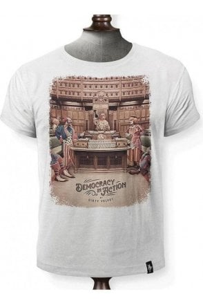 Democracy In Action T-shirt White
