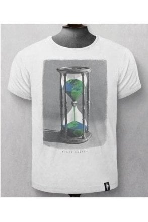 Hourglass Earth Vintage White