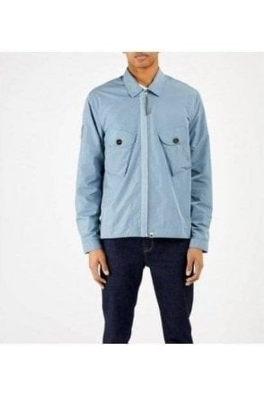 Metal Overshirt Blue
