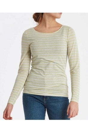 Ls Stripe Top Pineapple Slice