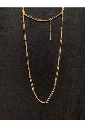 Geometric Necklace Gold